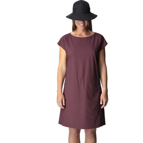 Houdini Dawn Dress Women giddy grape